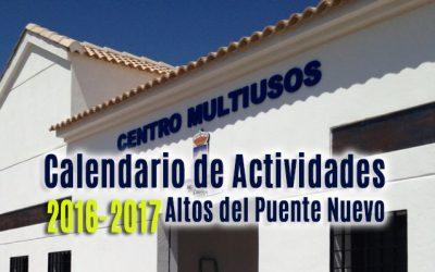 Programa de actividades N-323