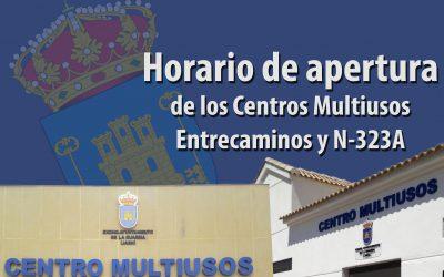 Centros Multiusos Entrecaminos y Altos del Puente Nuevo