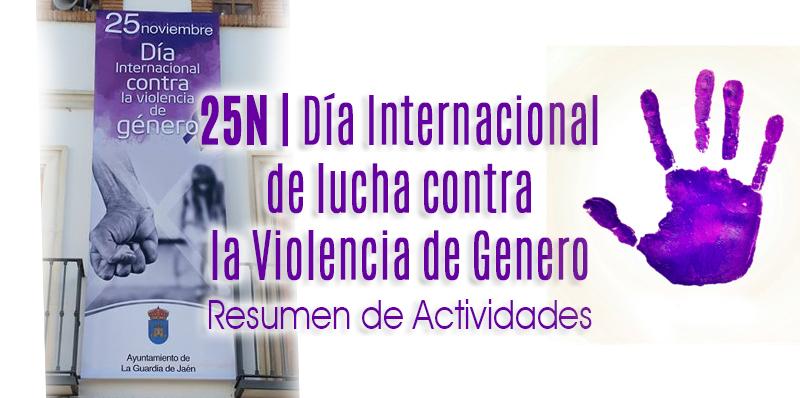 Actividades del #25N, Día Internacional contra la Violencia de Género
