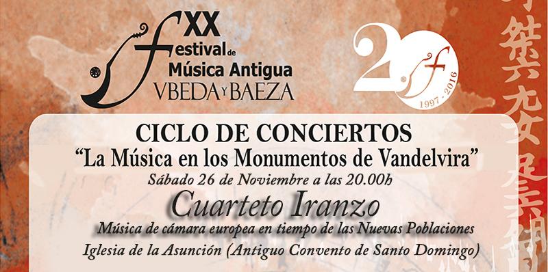 Música Antigua en los Monumentos de Vandelvira