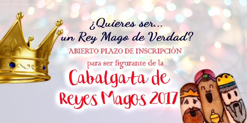 Participa de figurante en la Cabalgata de Reyes 2017