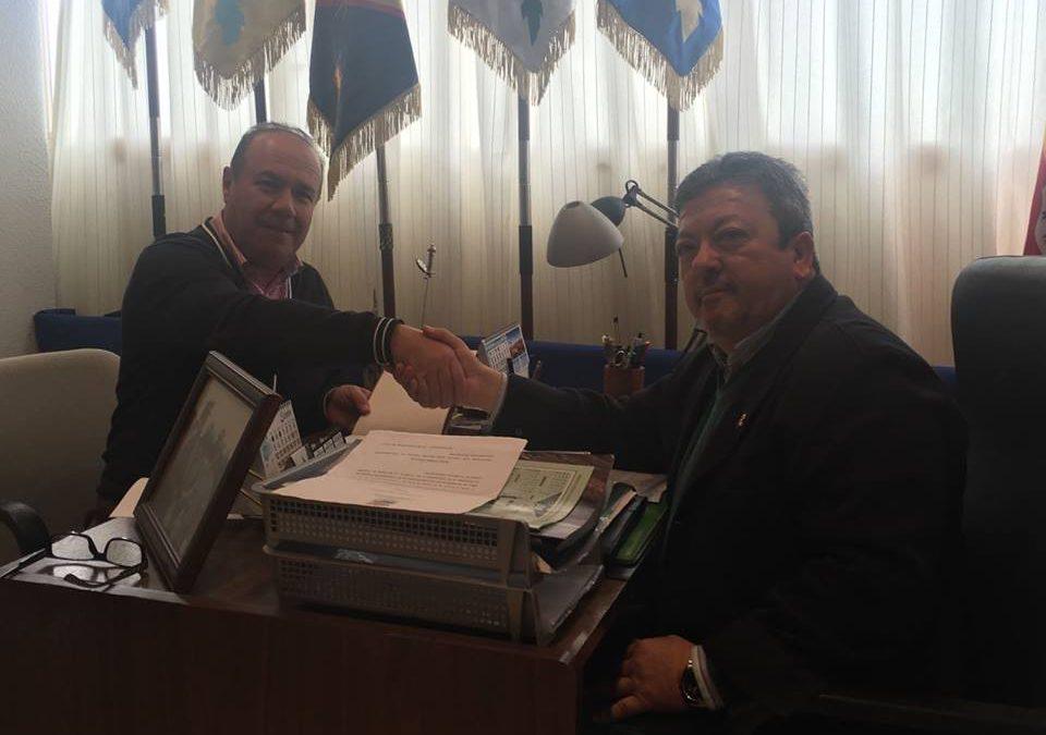 Firma del convenio con la Legión para San Sebastián 2017