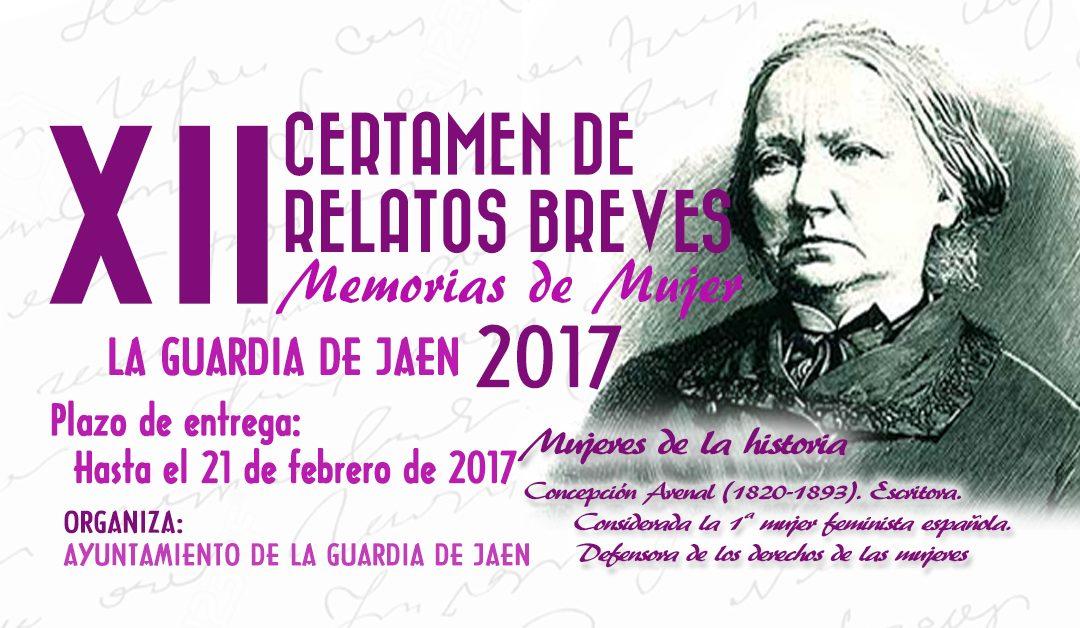 XII Certamen de Relatos Breves Memorias de Mujer