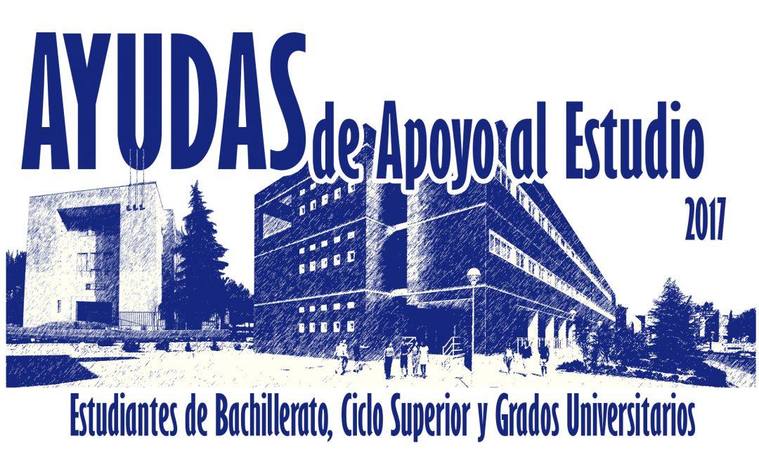 Convocatoria Becas Ayuda al Estudio 2016/2017
