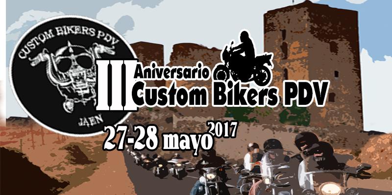 Concentración Motera III Aniversario Custom Bikers en La Guardia