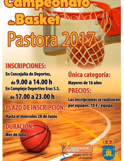 Campeonato de Baloncesto Pastora 2017