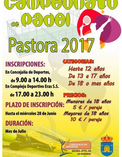 Campeonato Pádel Pastora2017