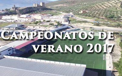 CAMPEONATOS DE VERANO 2017