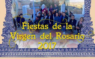Fiestas en honor a la Virgen del Rosario 2017