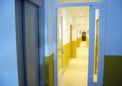 Acceso a Habitaciones desde Hall Hospedería