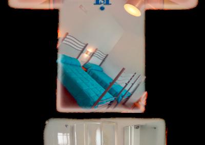 Habitación doble, camas individuales