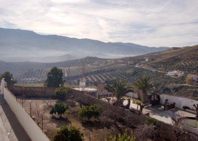 Vistas terraza Hospedería