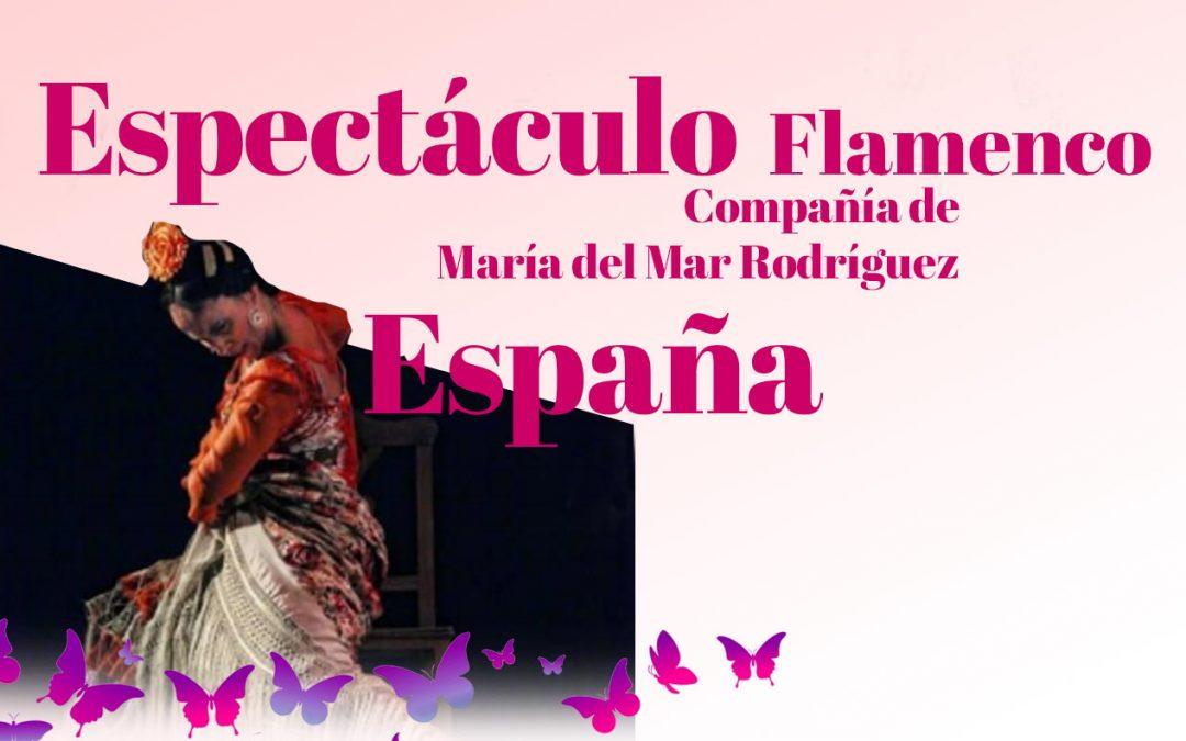 ESPAÑA. Espectáculo flamenco en La Guardia