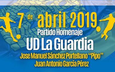 Partido Homenaje U.D. La Guardia a Pipo y Juan Antonio