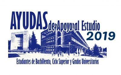 Convocatoria Becas Ayuda al Estudio 2018/2019