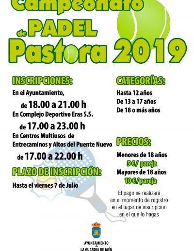 Campeonato Padel 2019