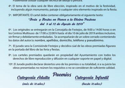 Bases Concurso Cartel Pastora 2019