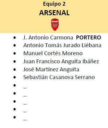 Equipo 2 - Arsenal