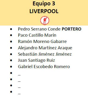Equipo 3 - Liverpool