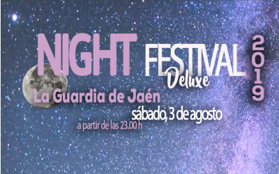 NIGHT FESTIVAL, 3 DE AGOSTO, A PARTIR DE LAS 23.00 HORAS