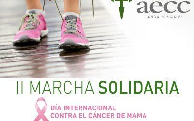 II MARCHA SOLIDARIA PARA APOYAR EL CÁNCER DE MAMA