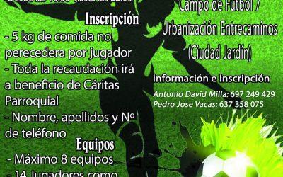 V CAMPEONATO SOLIDARIO HERMANDADES Y BANDAS SE POSPONE AL DÍA 10 POR MALAS PREVISIONES METEOROLOGICAS