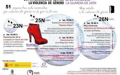ACTOS QUE SE REALIZARÁN CON MOTIVO DEL DÍA INTERNACIONAL DE LA VIOLENCIA DE GÉNERO 25N