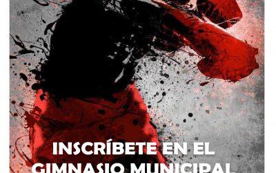 CLASES DE BOXEO EN EL GIMNASIO MUNICIPAL