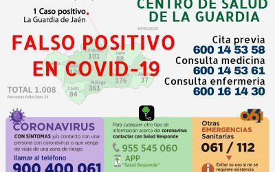 EL PRIMER CASO POSITIVO DE COVID-19 DA NEGATIVO EN NUEVAS PRUEBAS