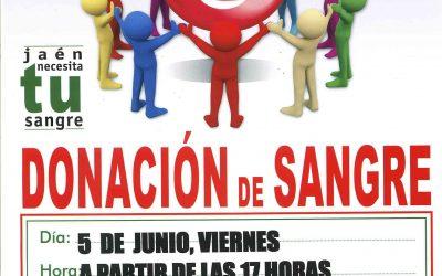 Dona sangre el próximo 5 de junio, en el Centro Multiusos de Entrecaminos