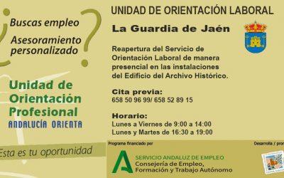 REAPERTURA UNIDAD DE ORIENTACIÓN LABORAL