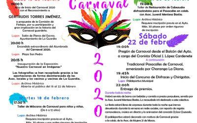 PROGRAMACIÓN CARNAVAL 2020 LA GUARDIA