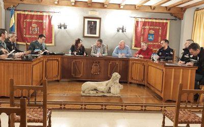 REUNIÓN EXTRAORDINARIA DE LA JUNTA DE SEGURIDAD CIUDADANA DEL AYTO DE LA GUARDIA