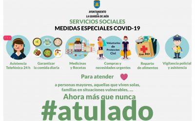 Medidas sociales del Ayuntamiento frente al Covid-19