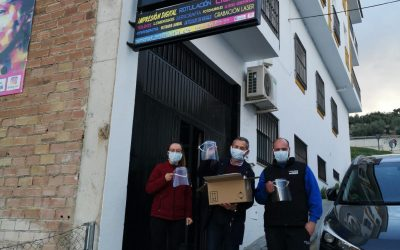 ROTUARA dona material protector para La Guardia de Jaén
